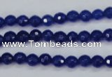CCN1960 15 inches 4mm faceted round candy jade beads wholesale