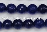 CCN1965 15 inches 14mm faceted round candy jade beads wholesale