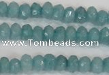 CCN2000 15 inches 3*5mm faceted rondelle candy jade beads wholesale