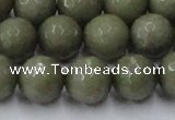 CCN2027 15 inches 14mm faceted round candy jade beads wholesale