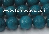 CCN2048 15 inches 14mm faceted round candy jade beads wholesale