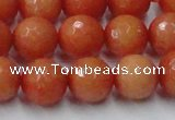 CCN2055 15 inches 14mm faceted round candy jade beads wholesale