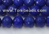 CCN2068 15 inches 12mm faceted round candy jade beads wholesale