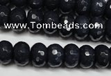 CCN2115 15.5 inches 8*12mm faceted rondelle candy jade beads