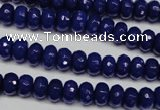 CCN2118 15.5 inches 4*6mm faceted rondelle candy jade beads