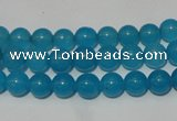 CCN26 15.5 inches 6mm round candy jade beads wholesale