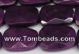 CCN2634 15.5 inches 18*25mm faceted trapezoid candy jade beads