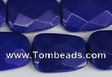 CCN2635 15.5 inches 18*25mm faceted trapezoid candy jade beads
