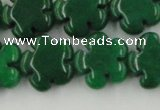 CCN2667 15.5 inches 16mm carved flower candy jade beads wholesale