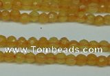 CCN2800 15.5 inches 2mm tiny faceted round candy jade beads
