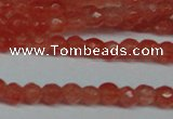CCN2801 15.5 inches 2mm tiny faceted round candy jade beads