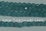 CCN2802 15.5 inches 2mm tiny faceted round candy jade beads