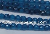 CCN2816 15.5 inches 3mm tiny faceted round candy jade beads