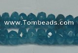 CCN2855 15.5 inches 2*4mm faceted rondelle candy jade beads