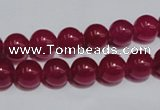 CCN34 15.5 inches 8mm round candy jade beads wholesale