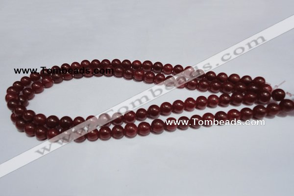 CCN36 15.5 inches 8mm round candy jade beads wholesale