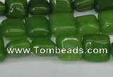 CCN3792 15.5 inches 8*8mm square candy jade beads wholesale