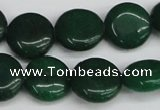 CCN3824 15.5 inches 14mm flat round candy jade beads wholesale