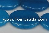 CCN3994 15.5 inches 30*40mm oval candy jade beads wholesale