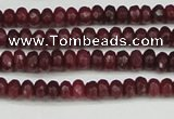 CCN4104 15.5 inches 2*4mm faceted rondelle candy jade beads