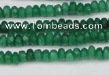 CCN4109 15.5 inches 2*4mm faceted rondelle candy jade beads