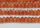 CCN4121 15.5 inches 4*6mm faceted rondelle candy jade beads