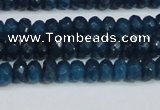 CCN4136 15.5 inches 4*6mm faceted rondelle candy jade beads