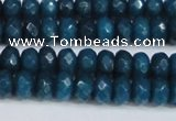 CCN4167 15.5 inches 5*8mm faceted rondelle candy jade beads