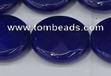CCN4189 15.5 inches 20mm faceted coin candy jade beads wholesale