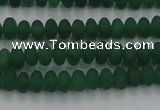 CCN4504 15.5 inches 3*5mm rondelle matte candy jade beads