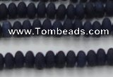 CCN4508 15.5 inches 3*5mm rondelle matte candy jade beads