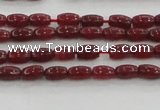 CCN4513 15.5 inches 3*5mm rice candy jade beads wholesale