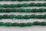 CCN4516 15.5 inches 3*5mm rice candy jade beads wholesale
