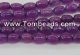 CCN4519 15.5 inches 4*6mm rice candy jade beads wholesale