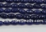 CCN4522 15.5 inches 4*6mm rice candy jade beads wholesale