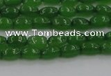 CCN4523 15.5 inches 4*6mm rice candy jade beads wholesale