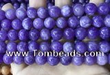 CCN5006 15.5 inches 8mm & 10mm round candy jade beads wholesale