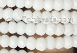 CCN5100 15 inches 3*4mm faceted rondelle candy jade beads