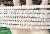 CCN5131 15 inches 5*8mm faceted rondelle candy jade beads