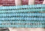 CCN5148 15 inches 5*8mm faceted rondelle candy jade beads