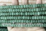 CCN5156 15 inches 5*8mm faceted rondelle candy jade beads
