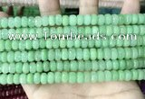 CCN5157 15 inches 5*8mm faceted rondelle candy jade beads