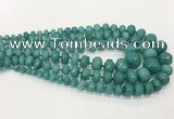 CCN5173 5*8mm - 14*20mm faceted rondelle candy jade graduated beads