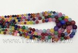 CCN5205 6mm - 14mm round candy jade graduated beads