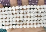 CCN5230 15 inches 8mm faceted nuggets candy jade beads