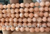 CCN5234 15 inches 8mm faceted nuggets candy jade beads