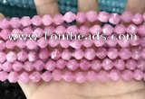CCN5239 15 inches 8mm faceted nuggets candy jade beads