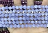 CCN5243 15 inches 8mm faceted nuggets candy jade beads