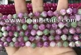 CCN5262 15 inches 8mm faceted nuggets candy jade beads