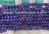 CCN5294 15 inches 6mm round candy jade beads Wholesale